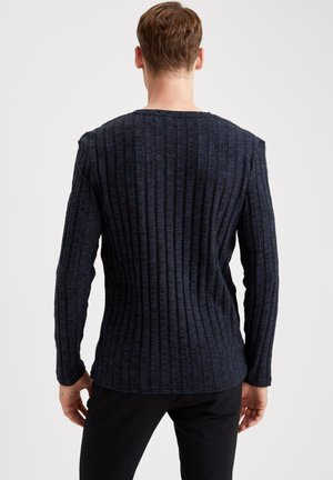 Strikpullover /Striktrøjer - indigo