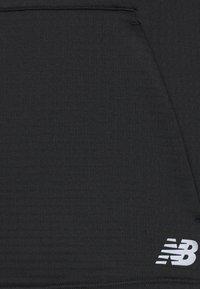 New Balance - HEAT GRID HOODIE - Longsleeve - black - 5