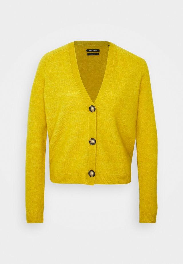 Kardigan - mustard yellow