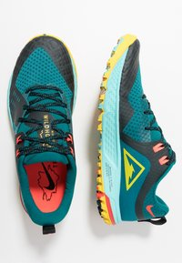 Nike Performance - AIR ZOOM WILDHORSE 5 - Løbesko trail - geode teal/chrome yellow/black/aurora green/bright crimson - 1