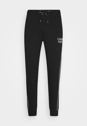 TWO TONE LOGO PANT - Trainingsbroek - black