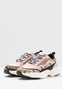 Miss Selfridge - TIGER - Sneakers - nude - 4