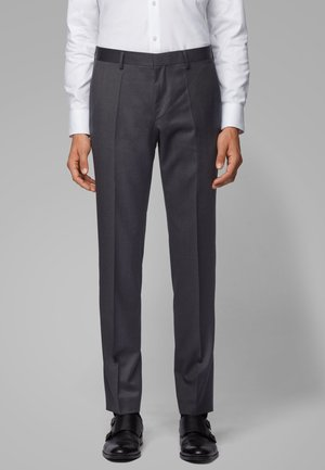 GENIUS5 - Suit trousers - dark grey