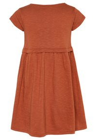Mainio - Jersey dress - bombay brown