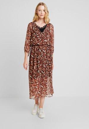 JESSICA - Maxi dress - rotbraun