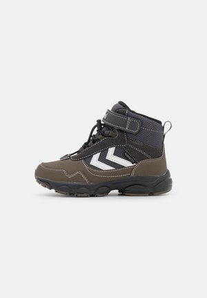 ZAP HIKE JR - Lace-up ankle boots - pavement