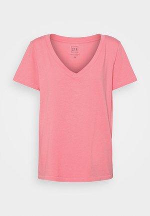 T-shirt basic - lipstick pink