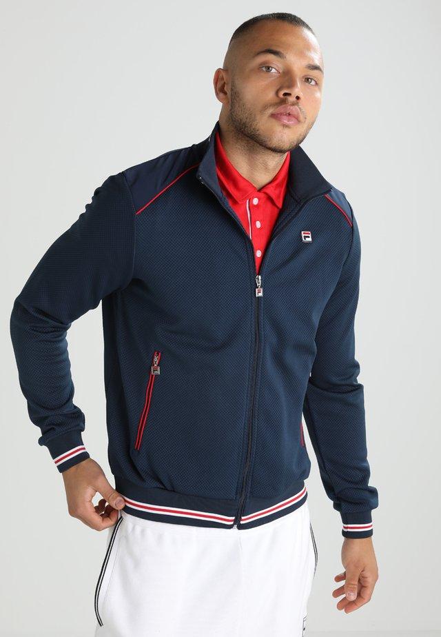 JACKET JOE - Treningsjakke - peacoat blue