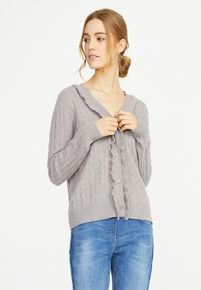 MIT 1/1-ARM - Vest - taupe-mela