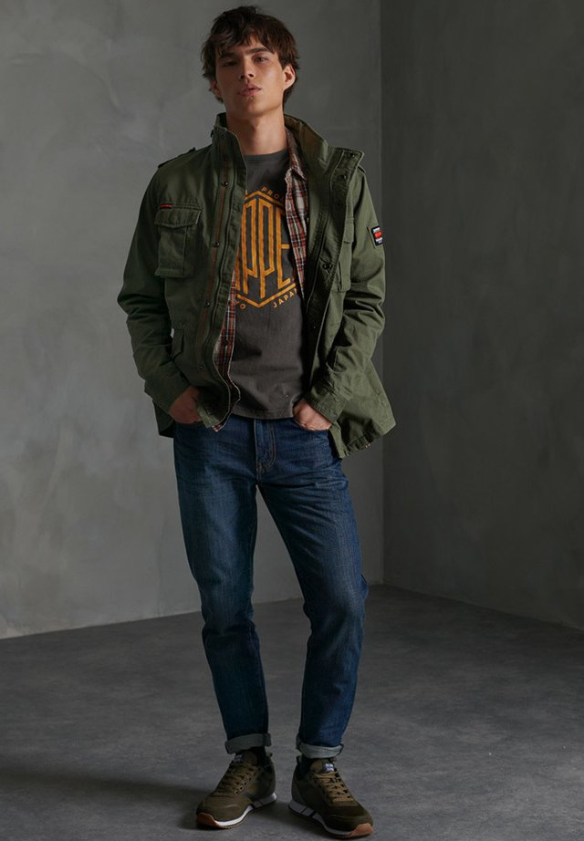 CLASSIC ROOKIE - Chaqueta fina - army green
