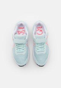 ASICS - CONTEND 7 UNISEX - Neutral running shoes - aqua/white - 3