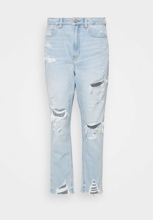 HIGHEST RISE MOM - Jeansy Slim Fit - light blue denim