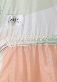 Obey Clothing - SLICE JACKET - Summer jacket - peach multi - 9