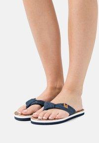 Kaporal - TAKINE - T-bar sandals - jeans - 1