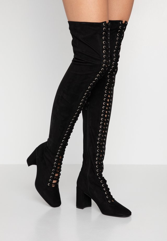 WILSHIRE - Over-the-knee boots - black
