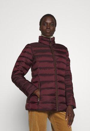 INSULATED COAT - Light jacket - pinot noir
