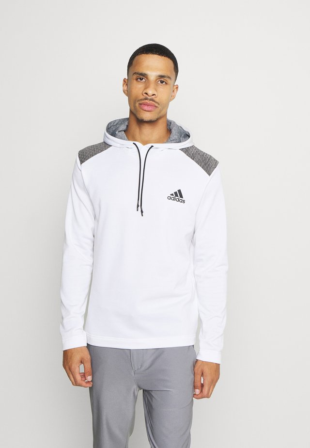 SPORTS GOLF HOODED  - Fleece jumper - white