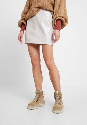 LUCY SKIRT - A-line skirt - beige dusty light