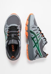 ASICS - GEL-VENTURE 7 - Trail running shoes - carrier grey/cilantro - 0