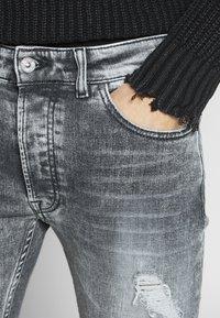 Tigha - MORTEN 9941  - Jeans slim fit - light grey - 5