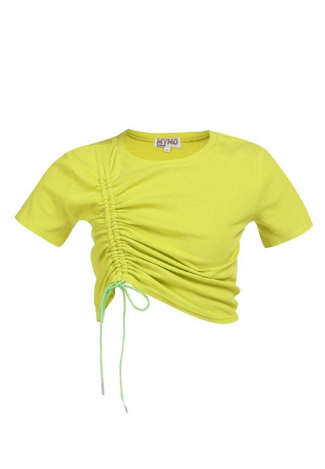 T-paita - neon gelb