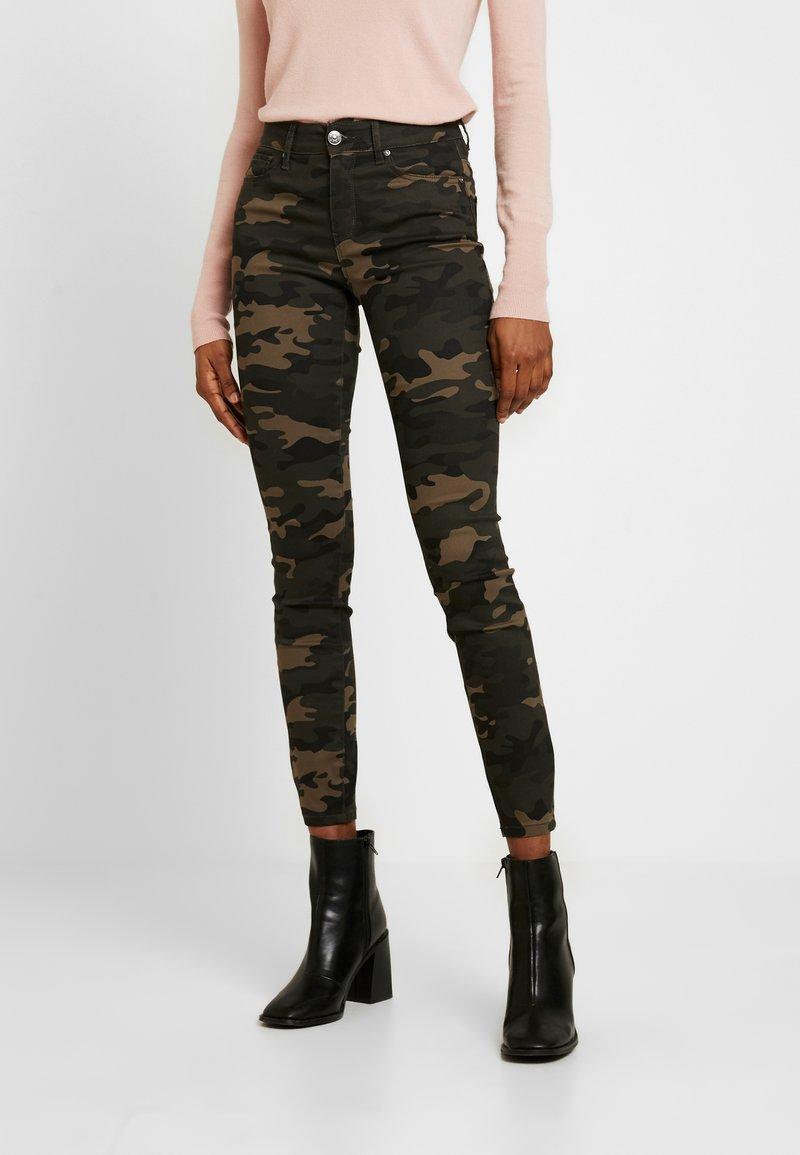 ONLY - ONLNINE ESTER LIFE - Trousers - peat/crocoblack