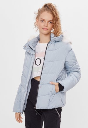 Down jacket - light blue