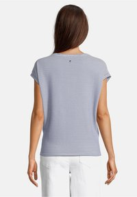 Betty & Co - Print T-shirt - blau/weiß - 2