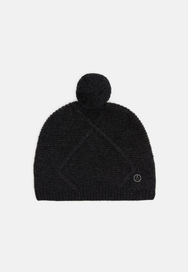 BEAUFORT HAT - Bonnet - deep charcoal