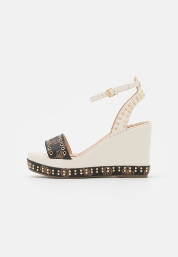 NOLDO - Sandály na platformě - cream