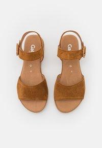 Gabor Comfort - Platform sandals - camel - 5