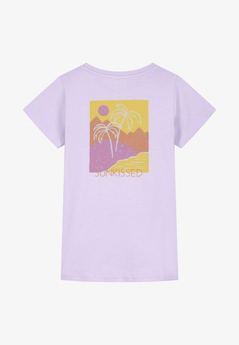 TAHITI - Print T-shirt - pastel lilac purple