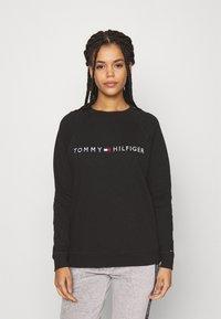 Tommy Hilfiger - ORIGINAL TRACK - Haut de pyjama - black - 0