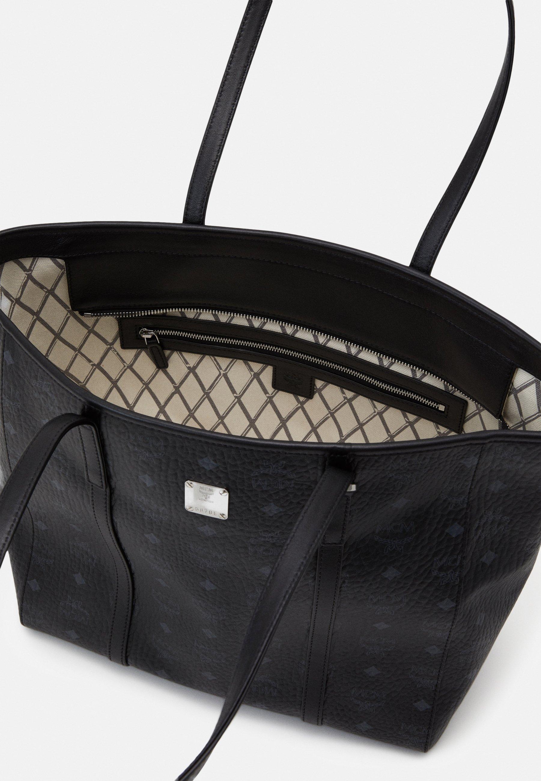 MCM TONI VISETOS - Shoppingveske - black/svart vMnq2vl6gcSphsn