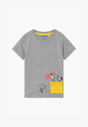 SMALL BOYS DOG - Print T-shirt - nebel