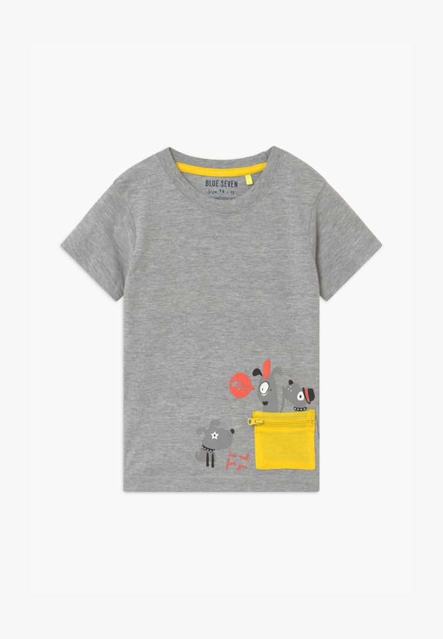 SMALL BOYS DOG - T-shirt med print - nebel