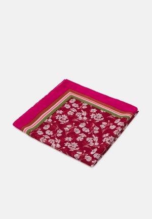 FLOWER PRINT - Šátek - dark red