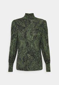 ONLY - ONLAMINA - Long sleeved top - balsam green/black - 0