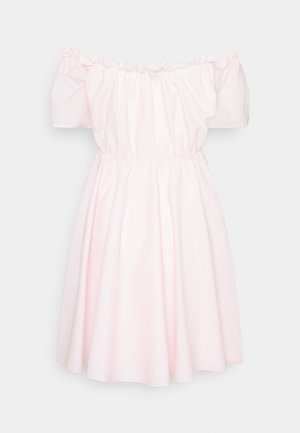 BARDOT SKATER DRESS - Day dress - baby pink