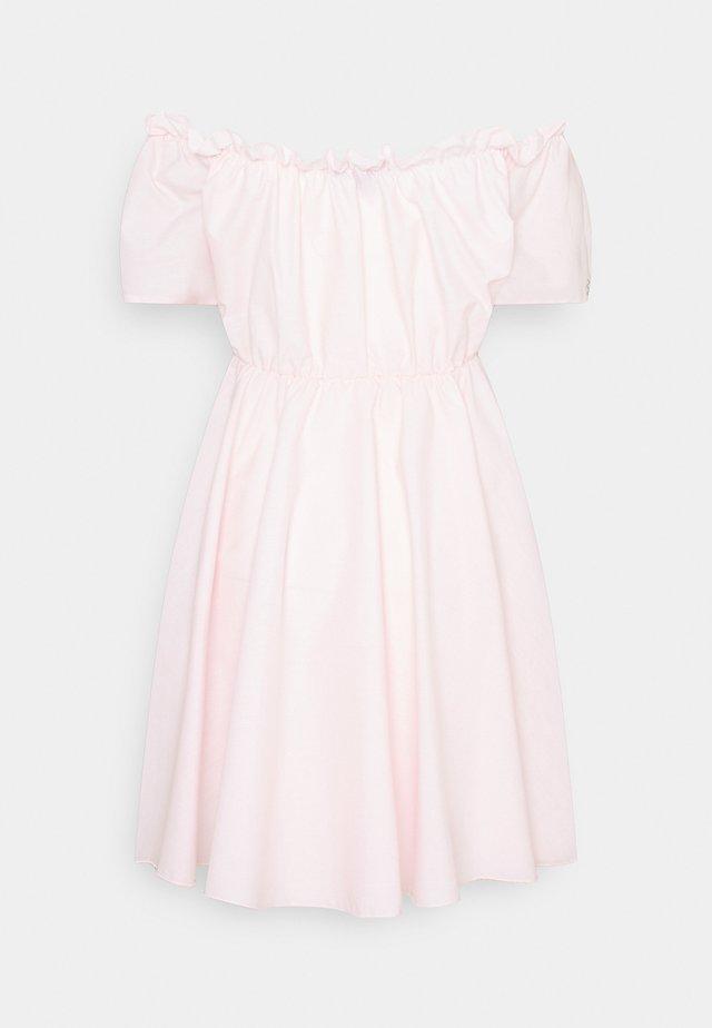 BARDOT SKATER DRESS - Vapaa-ajan mekko - baby pink