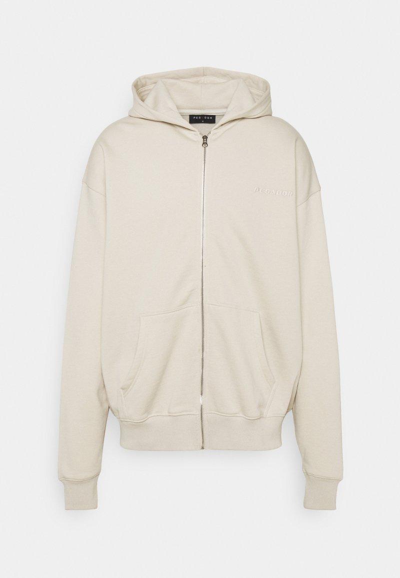 Pegador - Zip-up sweatshirt - whisper white