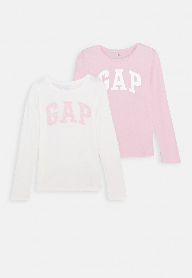 GAP - GIRLS LOGO 2 PACK - Long sleeved top - multi