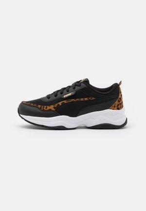 CILIA MODE LEO - Sneakersy niskie - black/team gold/white