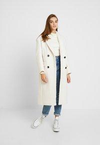 Topshop - KIM BOUCLE - Classic coat - ivory - 1