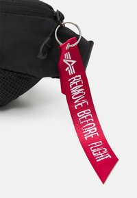Alpha Industries - PACKABLE WAIST BAG UNISEX - Bum bag - black - 3