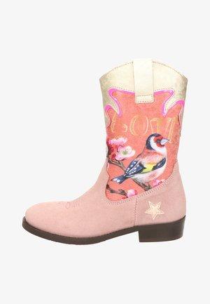 Cowboy-/Bikerlaarzen - roze