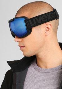 Uvex - DOWNHILL 2000 - Ski goggles - black mat - 0