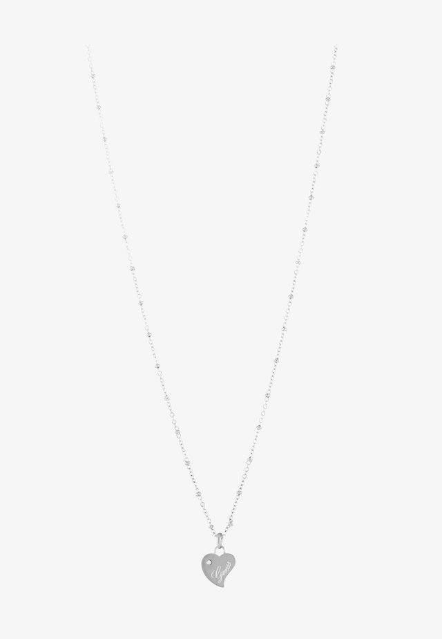 QUEEN OF HEART - Halskette - silver-coloured