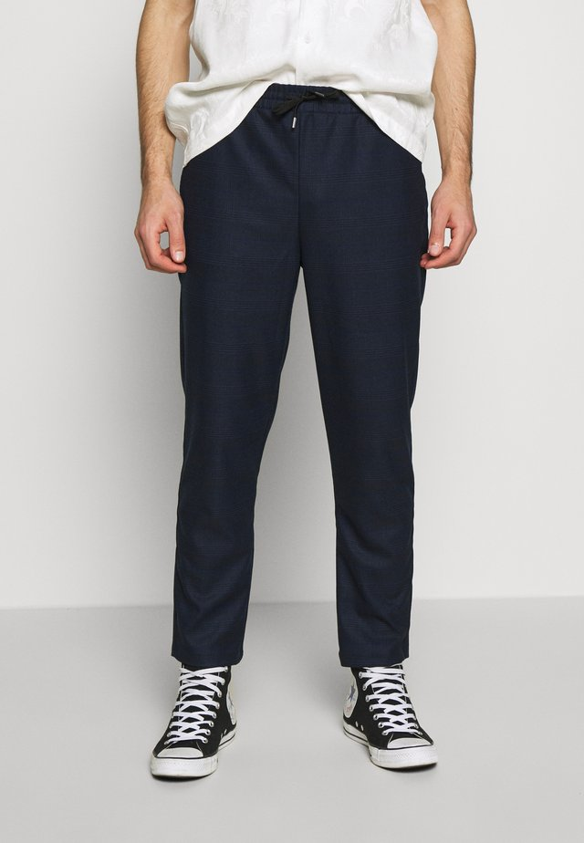PANTS - Tygbyxor - dark blue