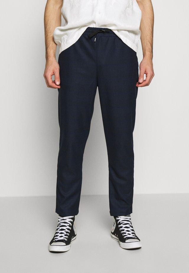 PANTS - Pantalon classique - dark blue